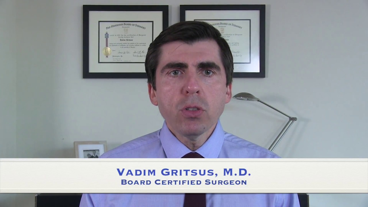 Vadim Gritsus, M.D. discusses exercise after Weight Loss Surgery