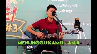 SUARANYA BIKIN BAPERRR.....!!! Menunggu Kamu Cover By Adlan - Musisi Jogja Project