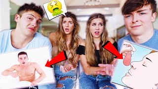 Girlfriends React To Things Guys DO But WON'T Admit..