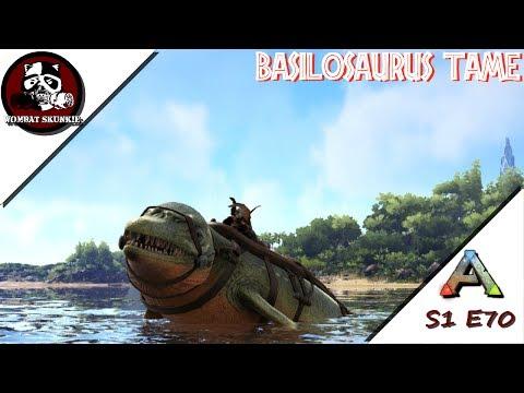 Taming a Baryonyx! Soloing the Ark S2E64 - смотреть онлайн