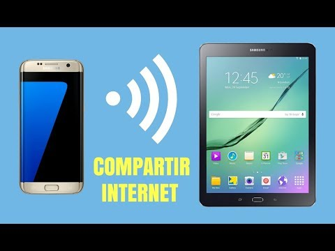Como compartir internet wifi desde movil/celular android a otros dispositivos (táblet)