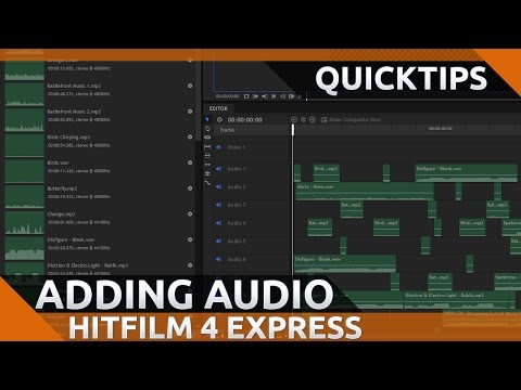 hitfilm 4 express tutorial