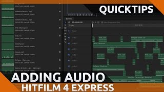 Hitfilm 4 express tutorial adding intro outtro and pip most how to add and blend music and sound effects in hitfilm 4 express ccuart Images
