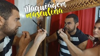 MAKE MASCULINA - Barbarize-se (Blog 806)