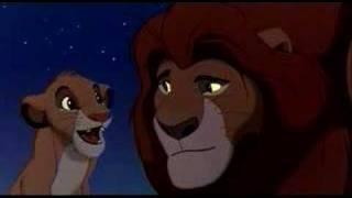 Lion King - Mufasa and Simba (English)
