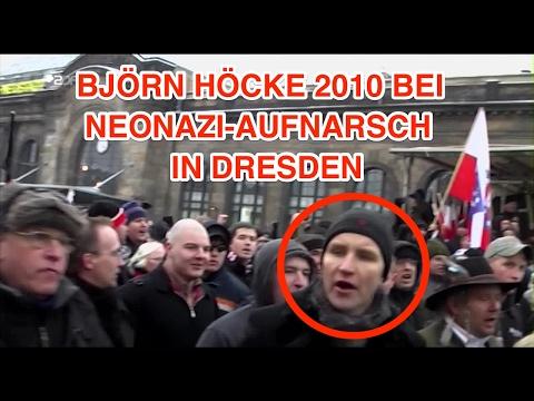 ZDF heute: Björn Höcke 2010 bei Neonazi Aufmarsch in Dresden