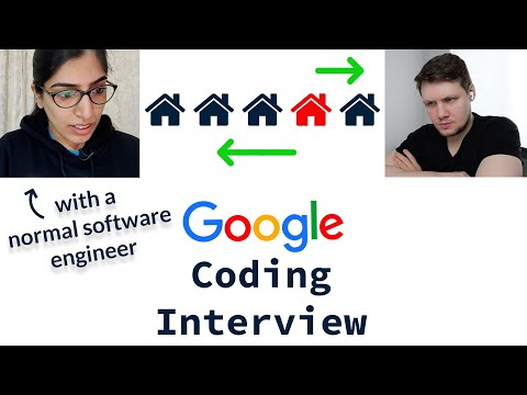 Google Coding Interview With A Normal Software Engineer