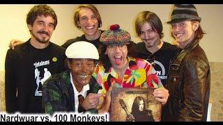 Nardwuar vs. 100 Monkeys
