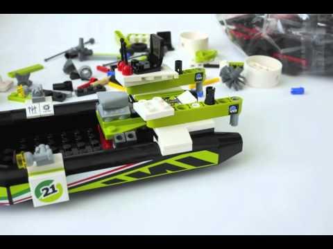 Vidéo LEGO World Racers 8899 : Le marais aux crocodiles