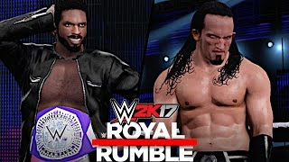 WWE 2K17: Royal Rumble 2017 - Rich Swann vs. Neville (Cruiserweight Championship)