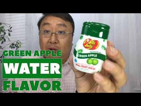 Jelly Belly Liquid Green Apple Drink Mix Review