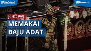 Presiden Jokowi Sampaikan Pidato Kenegaraan Kenakan Baju Adat dari Nusa Tenggara Timur