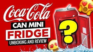 Coca Cola Can Mini Fridge By Koolatron COKE CC10G. Unboxing & Review.