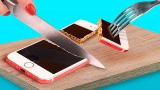 8 DIY Edible Phone Cases / Edible Pranks