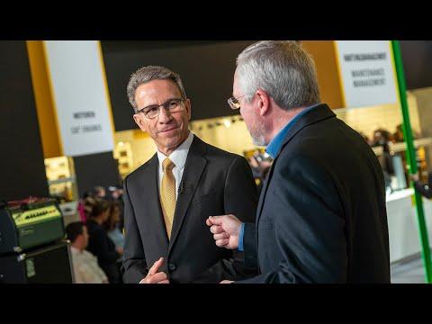 Caterpillar Chairman & CEO Jim Umpleby at bauma Munich 2019