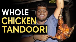 Full Chicken Tandoori Without Oven | Tandoori Chicken in Village Style | Popula Pette