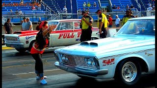 Drag Racing Classic Cars Nostalgia Super Stock at Chicago Raceway