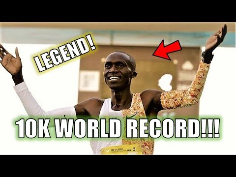 10K WORLD RECORD SMASHED!! || JOSHUA CHEPTEGEI RUNS 26:38!!!
