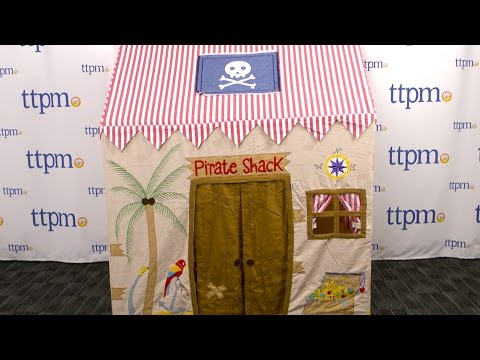 Large Pirate Shack Playhouse from Win Green