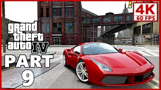 Grand Theft Auto 4 4K Gameplay Walkthrough Part 9 - GTA 4 4K 60fps