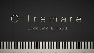 Oltremare   Ludovico Einaudi \\ Synthesia Piano Tutorial