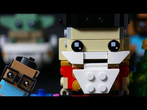 Vidéo LEGO BrickHeadz 40425 : Le casse-noisettes