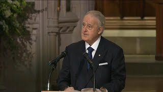 Former PM Brian Mulroney delivers eulogy for George H.W. Bush