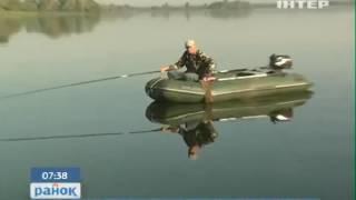"""Рибоохоронний рейд на Канівському водосховищі - """"Інтер"""""""