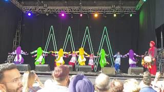 Nachda Punjab Girls perform Bhangra, Auckland Diwali 2018