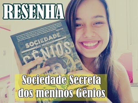 Resenha: Sociedade Secreta dos Meninos Gênios - Lev Ac Rosen