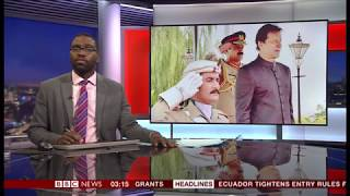 Imran Khan (from cricketer to Prime Minister) (Pakistan) - BBC News - 19th August 2018