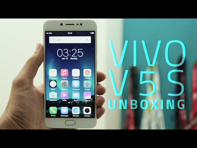 Vivo V5s With 20-Megapixel Selfie Camera Launched at Rs