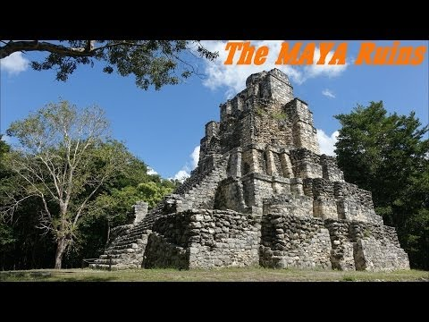 Mayan Civilization: The MAYAN Ruins in Muyil Mexico Archaelogical Site