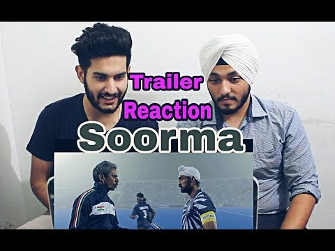 Soorma | Official Trailer Reaction | Ishan Sethi | Diljit Dosanjh | Taapsee Pannu | Angad Bedi