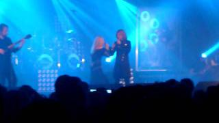 Leaves' eyes - live @ metal female voices fest IX- Tell-Tale Eyes(duet with elfenthal)