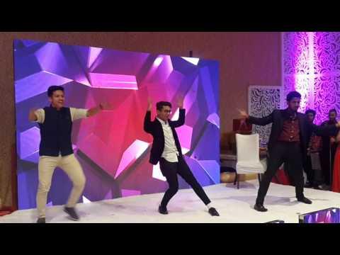 2017 Bride brother's o behna o behna dance performance 9716675293