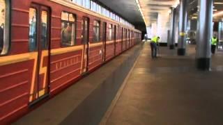 """Именной поезд """"красная стрела"""" на Воробьёвых горах"""