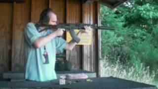 Suppressed AK47 Draco SBR