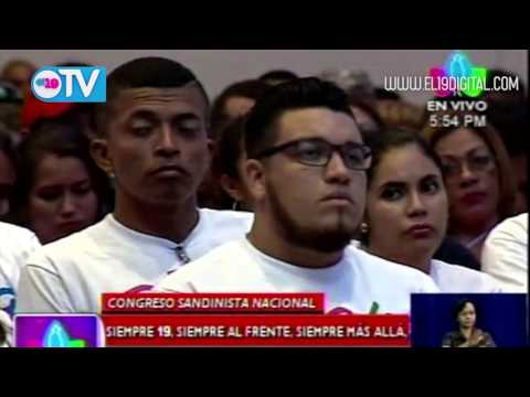 FSLN realiza su Congreso Nacional
