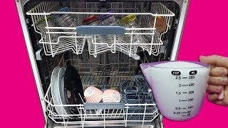Bunu Görünce Hemen Denemek İsteyeceksiniz - Matlaşan Bardaklar İçin Bulaşık Makinesi Tüyosu