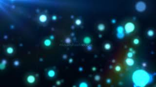 blue motion background | blue sparkling particles stock background footage | Royalty Free Footages