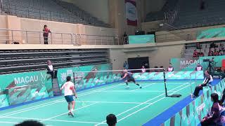 2018 Macau Open MS Lee Hyun Il vs Lu Guangzu excellent angle 60FPS 1080P Highlight