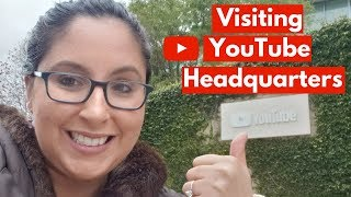 Visiting YouTube Headquarters! San Bruno, California