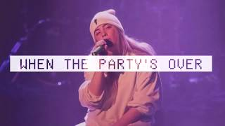 Billie Eilish   When The Party's Over (1 Hour Music)