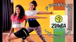 Eid Special | Zumba in Bollywood Style with Nicy Joseph | SLOW
