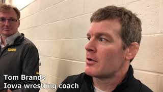 Tom Brands recaps Session III of the 2019 NCAA Wrestling Championships