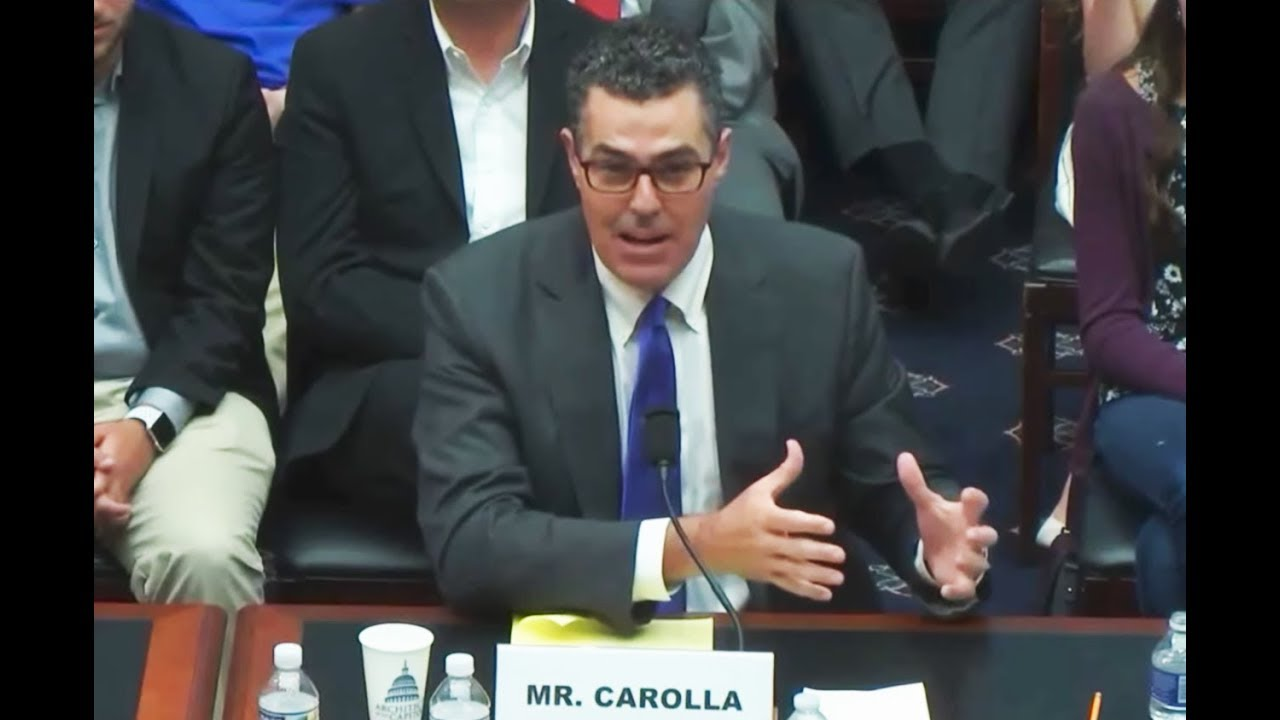 Adam Carolla Warns Congress About College 'Safe Spaces' thumbnail