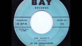 Ambassadors - Oh Nancy - Bay 210 / 211 - 1963