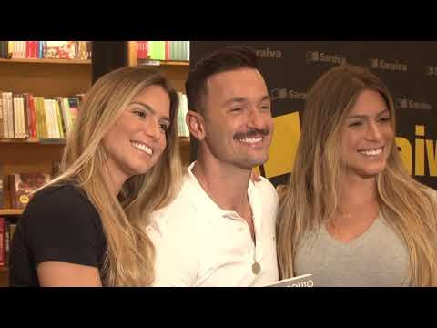 Diego Hypólito lança livro em São Paulo