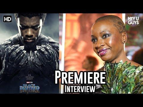 Danai Gurira - Black Panther Premiere Interview